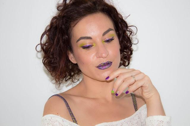 Purple, Lime & Glow 💕   MSC