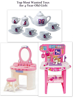 Top Most Wanted Toys for 4-Year-Old Girls