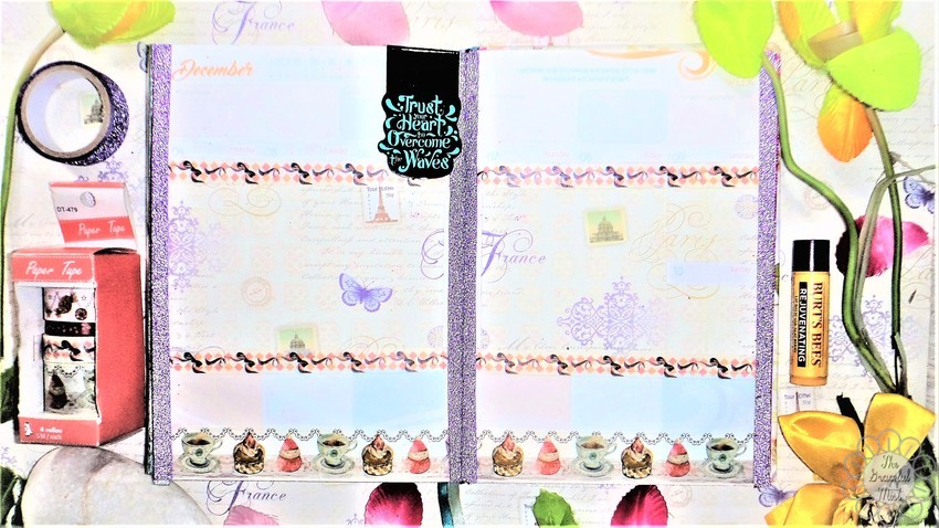 8 Weekly Planner Spreads | Ideas for the 2017 and 2018 Belle De Jour Power Planner (#BeforethePen) | Cozy Christmas in Violet Theme | by +The Graceful Mist (www.TheGracefulMist.com) - Beauty, Books, Fashion, Health, Lifestyle, Style, and Travel Blog/Website by Filipino - Filipina Blogger/Freelance Writer - @TheGracefulMist - Social Media Influencer - 2016 - 2017 - 2018 Belle De Jour Power Planner - Viviamo Inc. - Quezon City Philippines