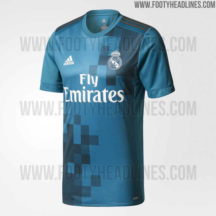 80dde3a1a Real Madrid 17-18 Third Kit Released - Footy Headlines
