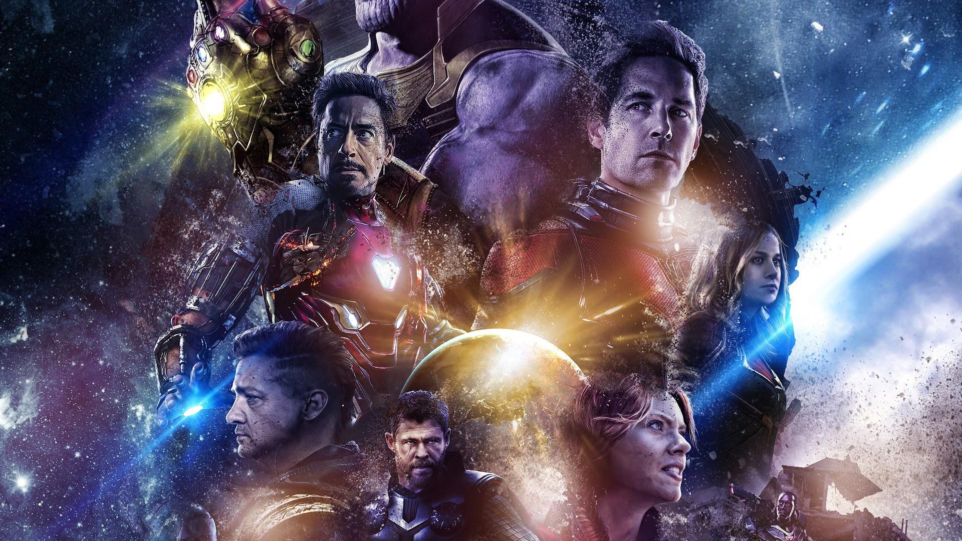 Avengers: Endgame, Characters, 4K, #49 Wallpaper