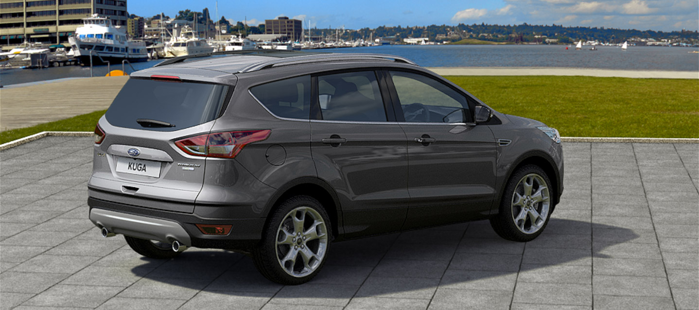 2017 Ford Kuga facelift left side image