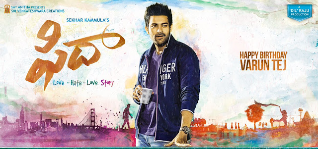 Fidaa First Look Posters