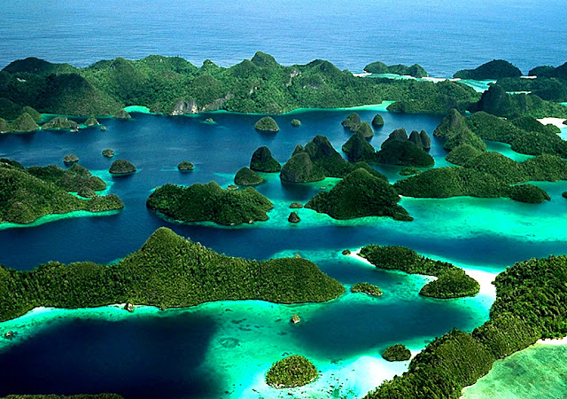 Wisata Nusantara di Raja Ampat