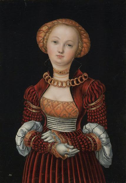 Lucas Cranach The Elder Portrait