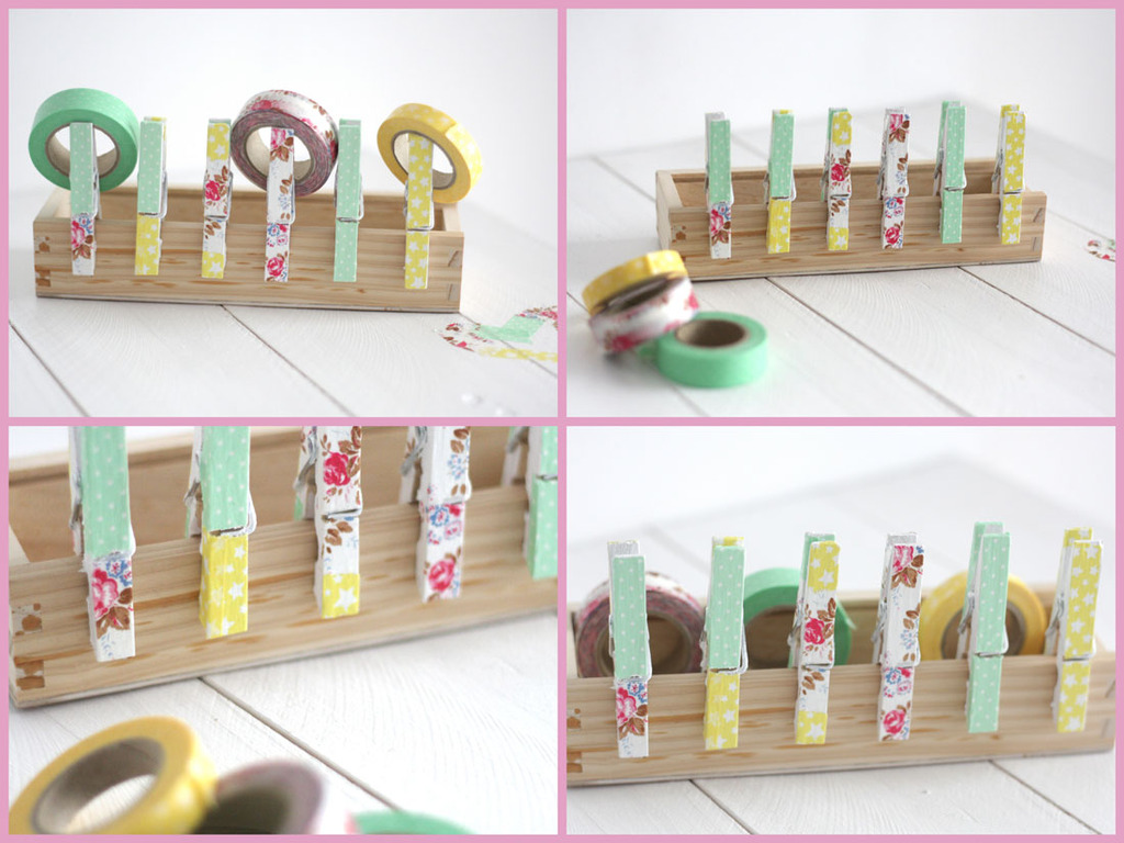 Ideas Para Decorar Con Washi Tape Twc Febrero 2013