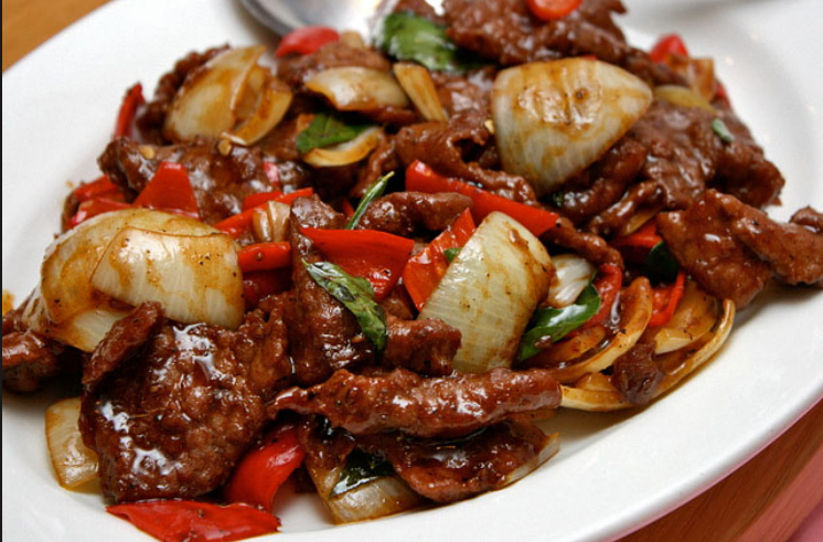 Halal style black pepper beef singapore food recipes reviews beef recipes chinese food halal style black pepper beef forumfinder Image collections