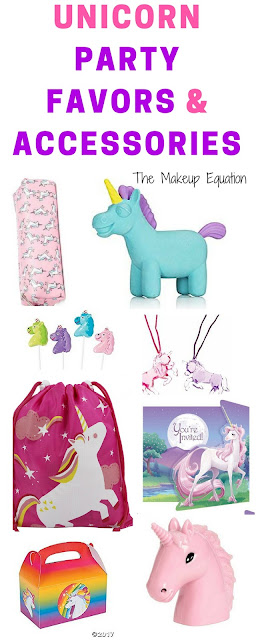 Unicorn party favors and gifts
