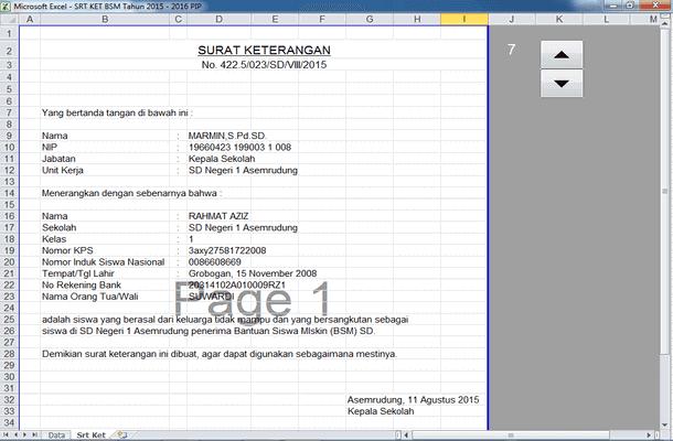 Aplikasi Pencairan Dana PIP (Program Indonesia Pintar) dan BSM