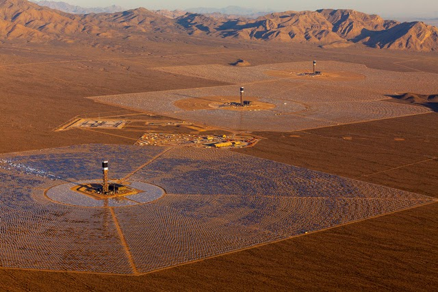 The World's Largest Solar Plant Started Creating Electricity Today