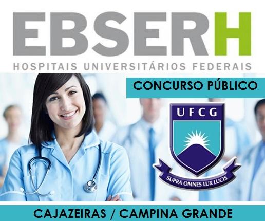 Ebserh divulga resultados de concursos para 595 vagas em hospitais na Paraíba