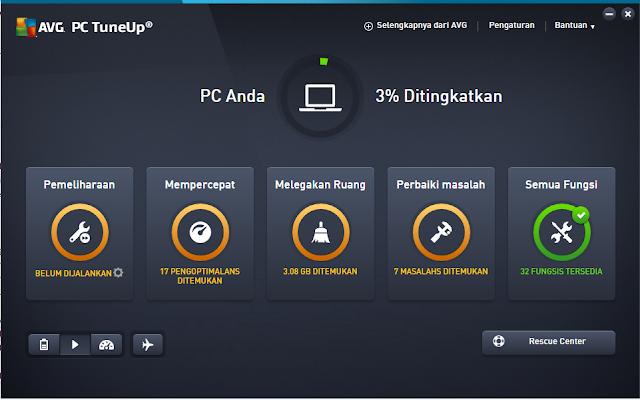 Download AVG PC TuneUp Utilities 16 Full Version