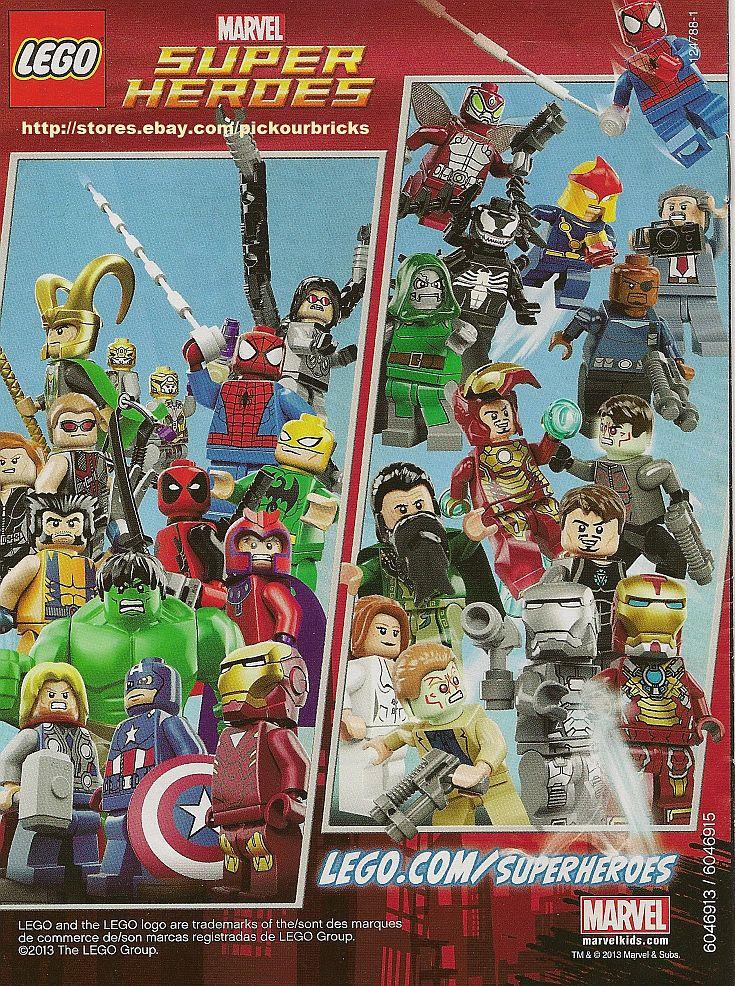 LEGO Marvel THE ULTIMATE SPIDERMAN Dr. Doom Mini Comics