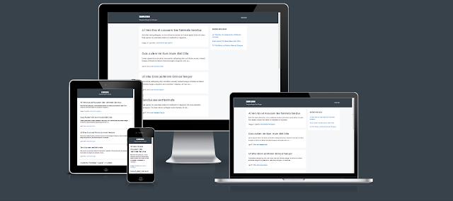 Template Blogku Redesign Blogger