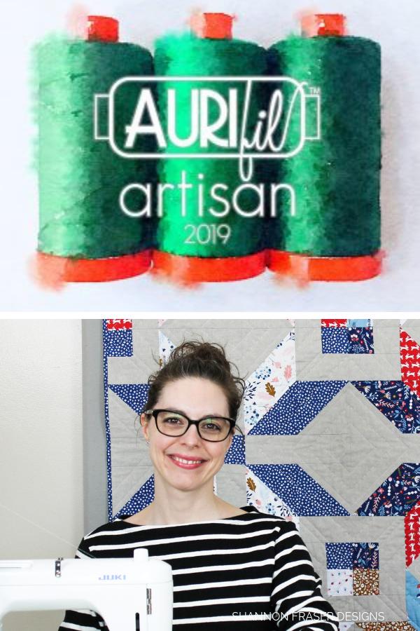 2019 Aurifil Artisan | Shannon Fraser Designs