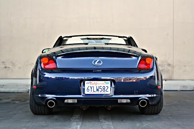 Lexus SC430, Toyota Soarer Z40, samochody z silnikiem V8, japońskie