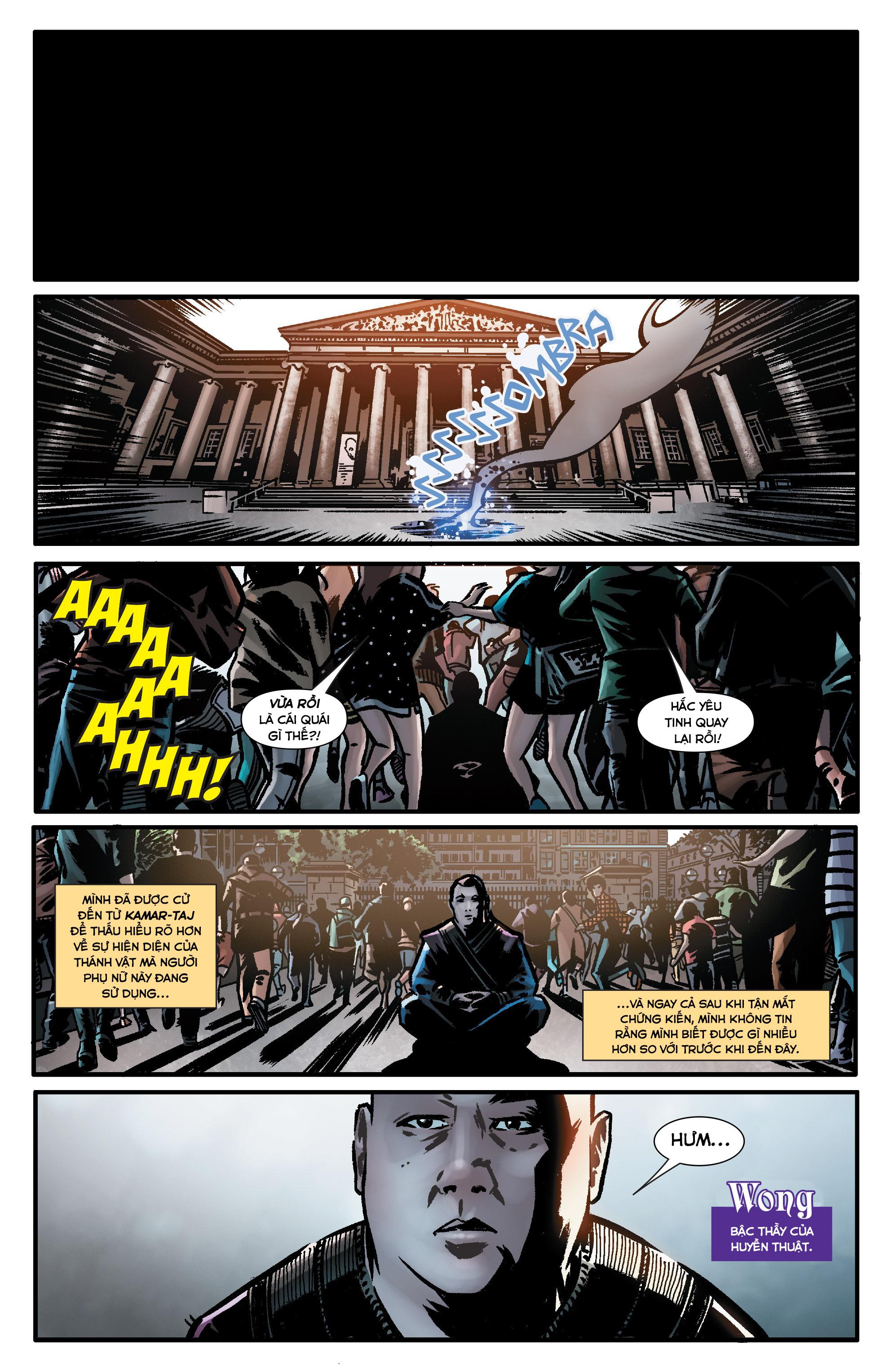 Doctor Strange Prelude kỳ 1 trang 4