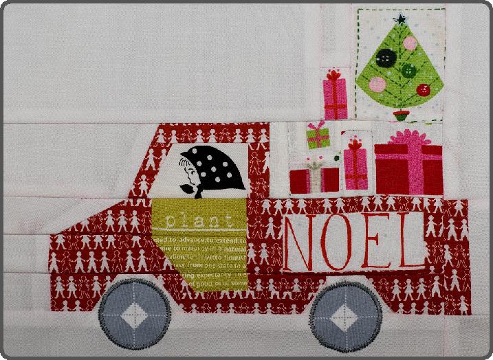 Block In '12 Days Of Christmas' Sampler