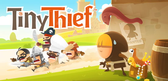 Tiny Thief app for android and iphones techij