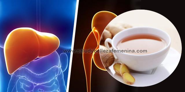 Té de jengibre para limpiar hígado y riñones, una deliciosa y muy beneficiosa infusión que nos ayuda a proteger el hígado y la vesícula, aumentar las defensas y mejorar nuestra digestión de forma fácil y natural.