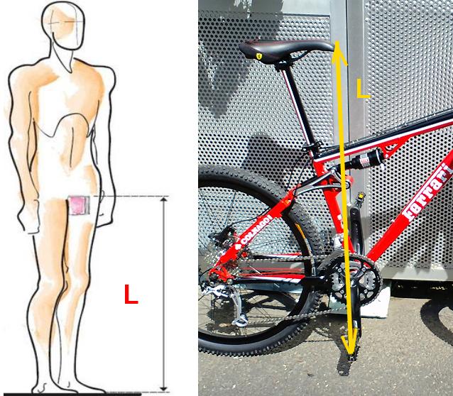 настройка посадки на велосипеде