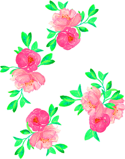 Vector flower For Textile print 2056