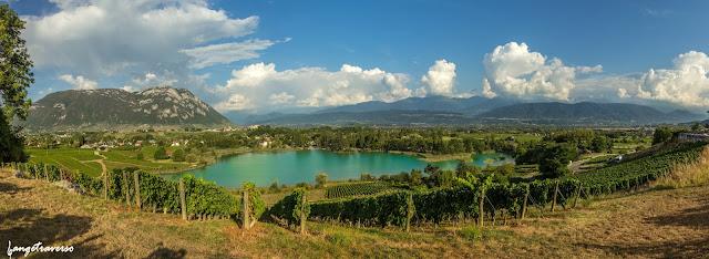 Savoie, Mont granier, massif de la Chartreuse, vignes, lac de saint-André, Alpes, Alps, Landscape, paysage