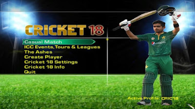 Rofijee Studios Cricket 18 Patch For EA Sports Cricket 07