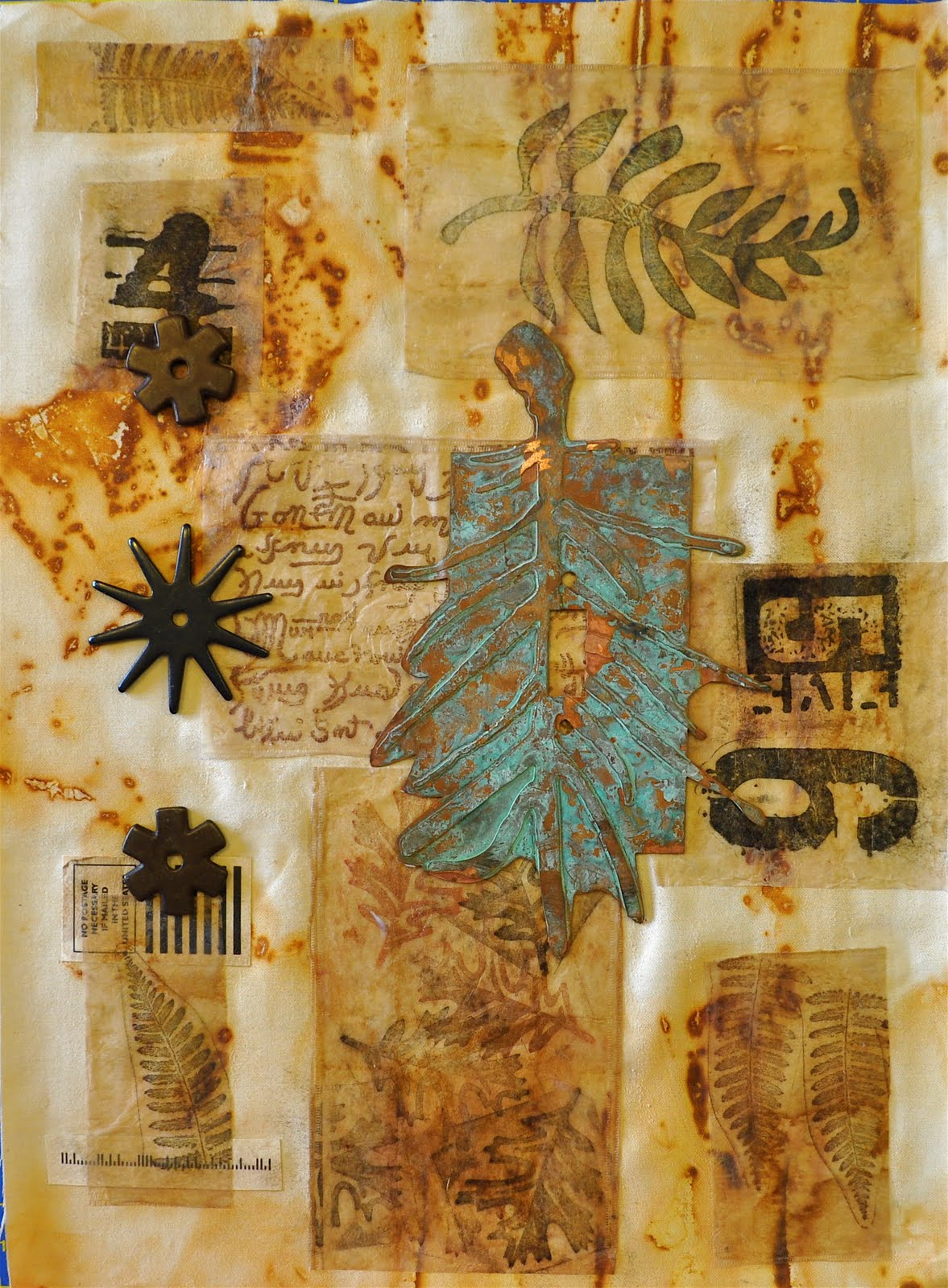 Luann Kessi Mixed Media New Class Sample