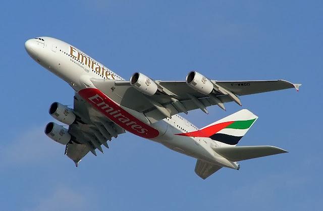 Emirates A380, Wikipedia, G. Patkar