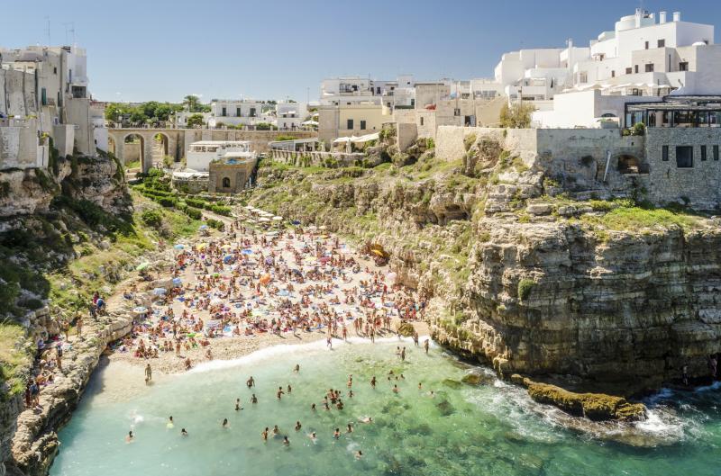 Italy: Polignano a mare, Puglia