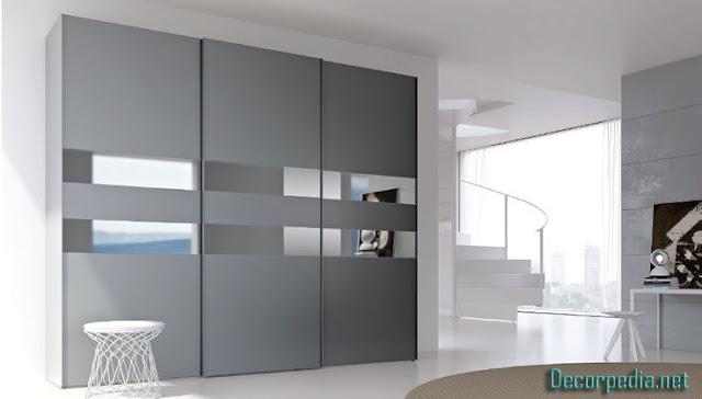 new bedroom cupboards designs and ideas, grey bedroom wardrobe and closet