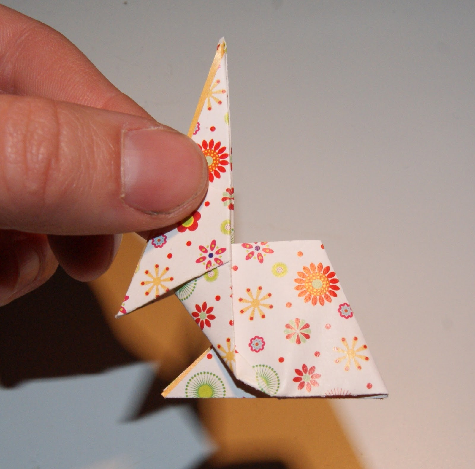 Origami Osterhase Leicht Wildres Faltanleitung Origami Hase