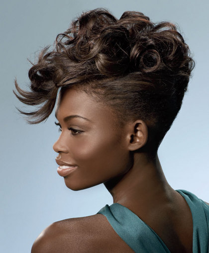 Fashion Clothes Trendy American Hairstyle Updos African