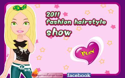 2011 Fashion Hairstyle Show - Jeu Pour les Filles sur PC