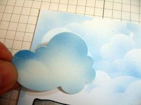 Cara Mudah Membuat Lukisan Awan Catatan Neng Tanti