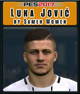 PES 2017 Faces Luka Jović by Sameh Momen