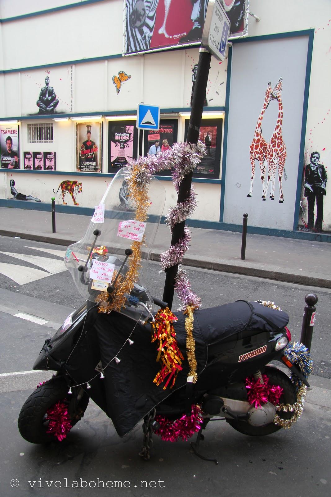 weihnachten centre pompidou