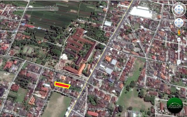 Tanah dekat UGM jl kaliurang km 6,5