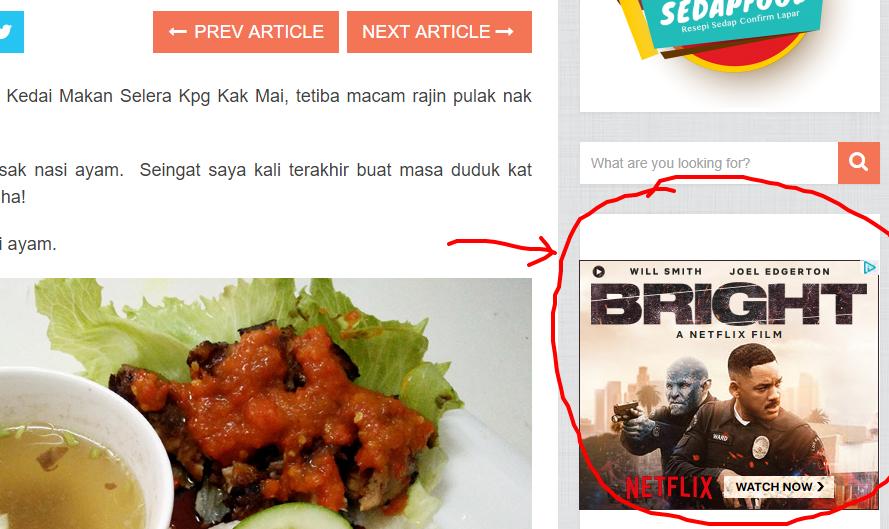 Manfaatkan Trafik Blog Korang guna Display Ads Buatan Sendiri 2