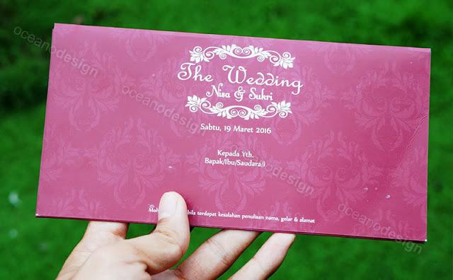 undangan nikah nisa dan sukri