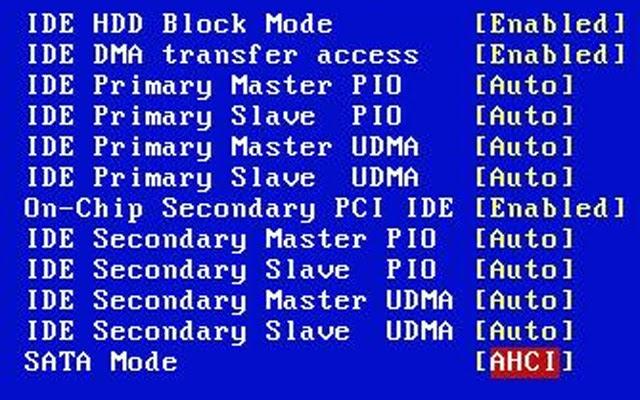 win7 安裝時忘記選用AHCI模式如何是好???? !!!!!! --- PC DVR 自立救濟