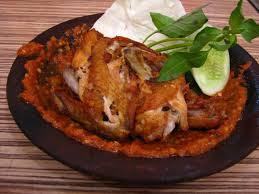 Penyetan-Ayam-Kampung-Ala-Warung-Cak-Min