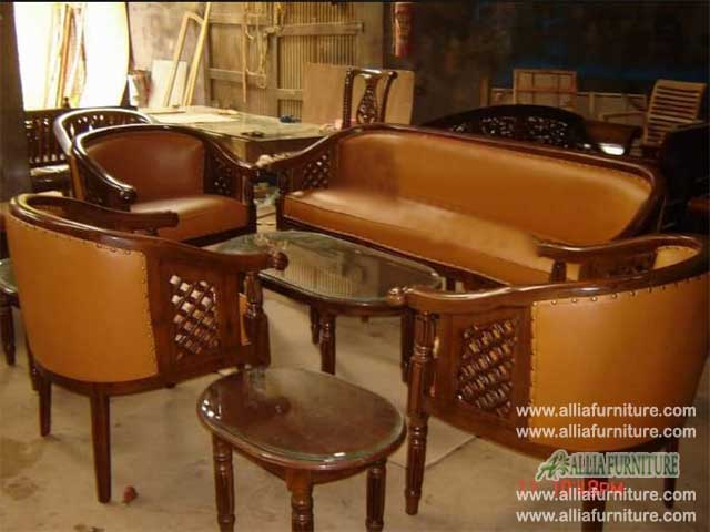 kursi tamu sofa set ukiran model citra
