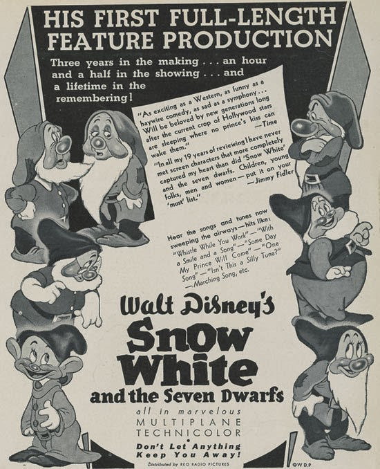 Snow White and the Seven Dwarfs animatedfilmreviews.filminspector.com
