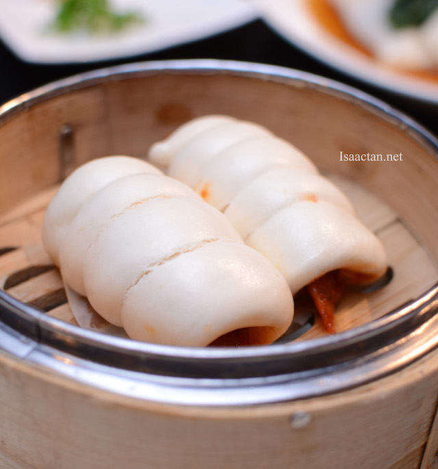 Steamed Bun with Chinese Sausage