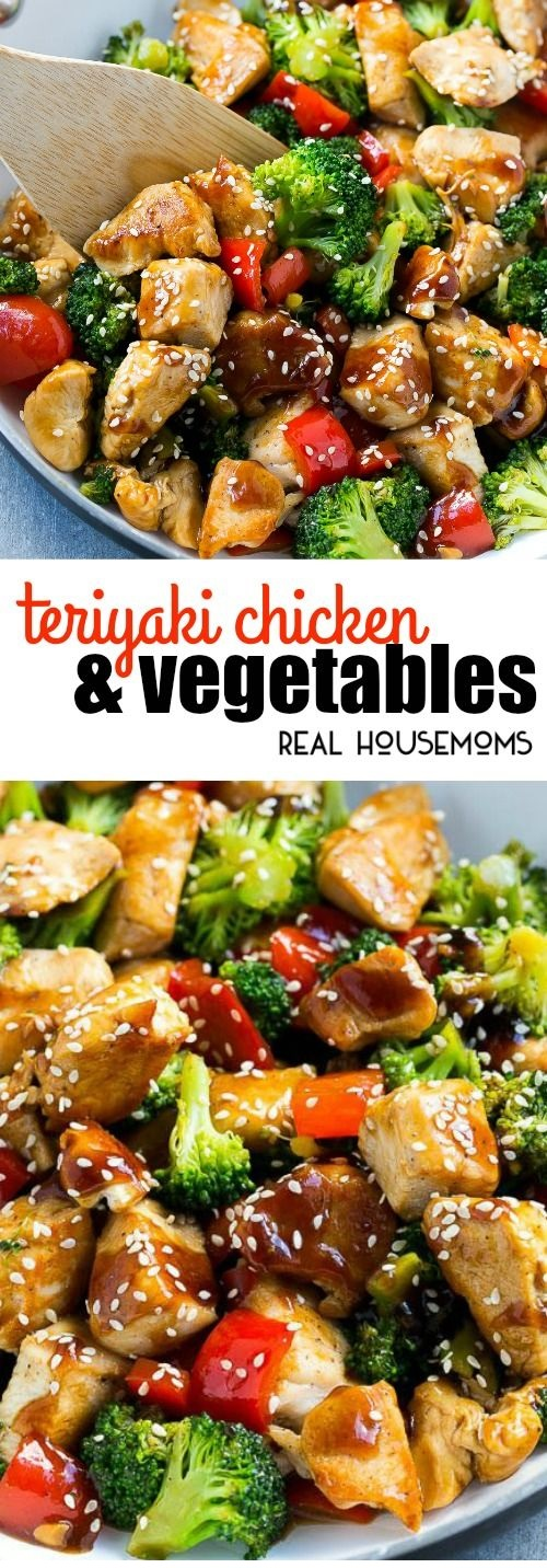 CHINESE RECIPES | Teriyaki Chicken and Vegetables