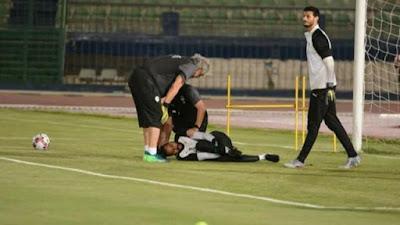 احمد ناجى, تفاصيل اصابة جنش, معسكر المنتخب,