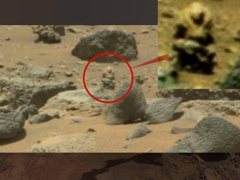 """f61a4da41adea """"Conspiracy theorists have claimed to have spotted an """"alien soldier"""" which  has been spotted stalking the Curiosity Rover on Mars. The creature was  spotted ..."""
