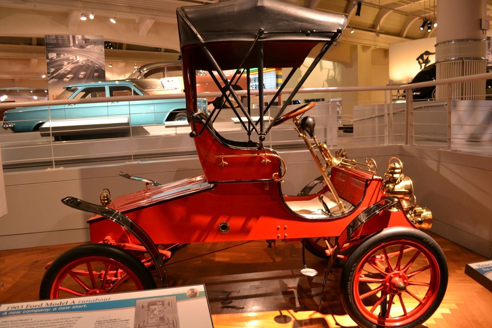 Форд, 1903 года выпуска, модель А. Музей Генри Форда. Дирборн, Мичиган (Henry Ford Museum, Dearborn, MI)